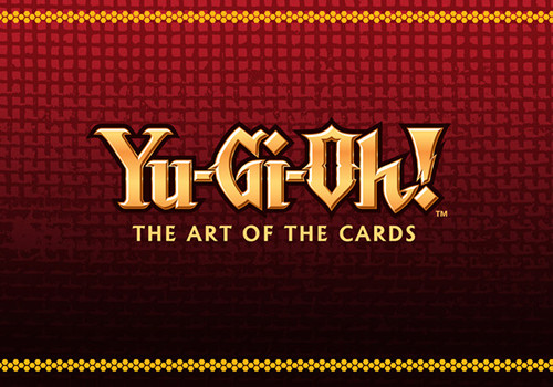 Yu-Gi-Oh! The Art of the Cards logo