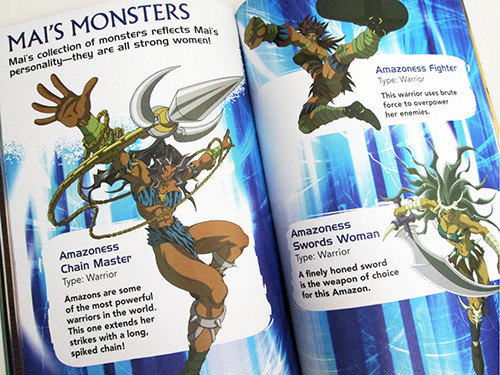 Some of Mai's Monsters in Yu-Gi-Oh! Official Handbook