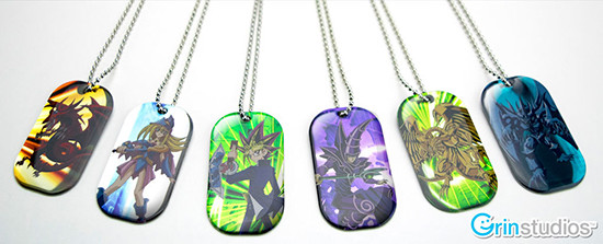 Series 1 Yu-Gi-Oh! dog tags from Grin Studios