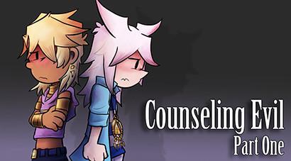 Marik and Bakura artwork for LittleKuriboh's Counseling Evil series by Kamy2425