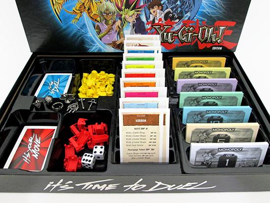 USAopoly Yu-Gi-Oh! Monopoly banker's tray