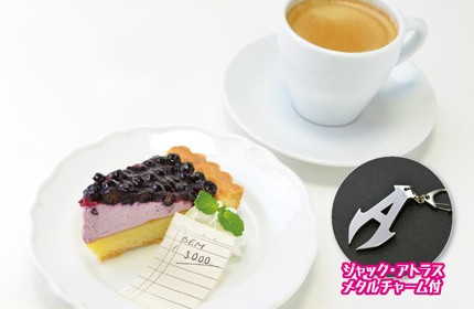 Jack Atlas' Blue-Eyes Mountain coffee at the Yu-Gi-Oh! Animate Cafe