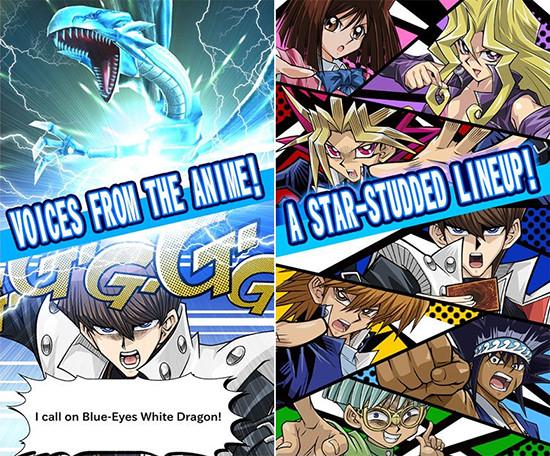 Yu-Gi-Oh! Duel Links anime characters promo image
