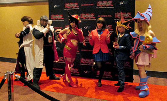 More Yu-Gi-Oh! cosplayers at the Yu-Gi-Oh! The Dark Side of Dimensions U.S. premiere screening