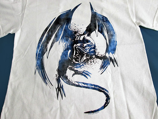 Blue-Eyes White Dragon white T-shirt