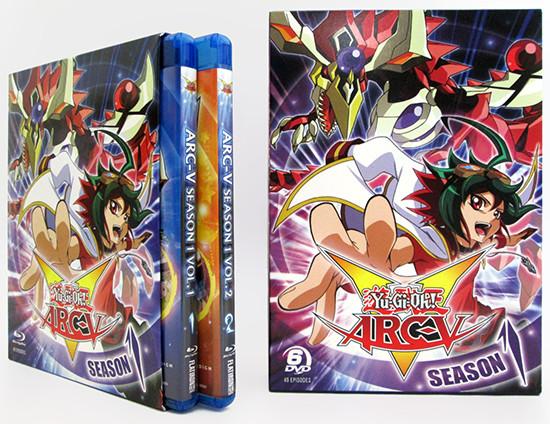 Cinedigm's Yu-Gi-Oh! ARC-V Season 1 Blu-ray and DVD box sets
