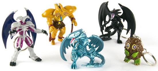Grin Studio's Yu-Gi-Oh! figural keychains series 1