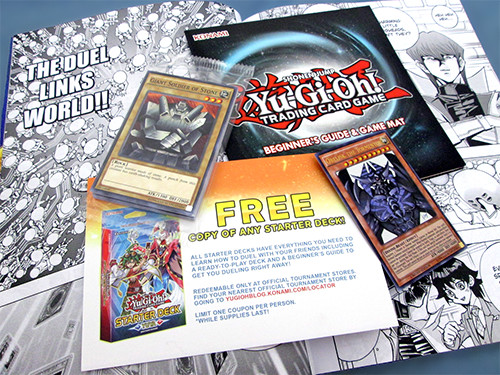 Yu-Gi-Oh! TCG cards and extras included with the Weekly Shonen Jump Spring 2017 Jump Pack