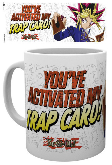 You've Activated My Trap Card mug by GB eye
