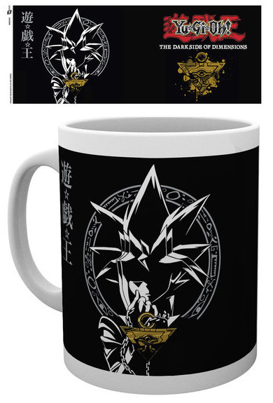 Yu-Gi-Oh! The Dark Side of Dimensions Yugi Muto and the Millennium Puzzle black mug by GB eye