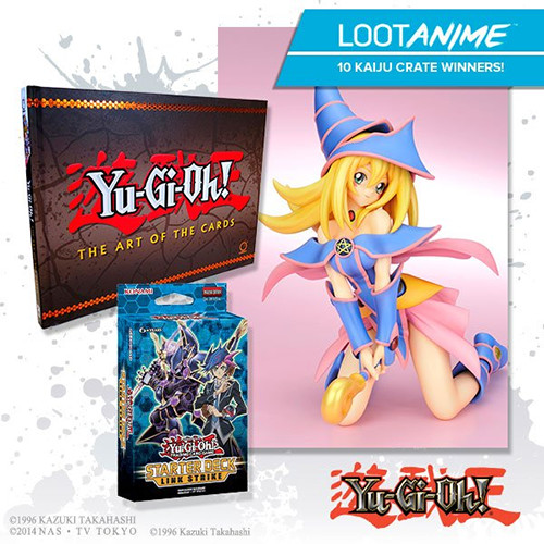 Loot Anime's July 2017 Mini Kaiju Crate Yu-Gi-Oh! Prize Pack