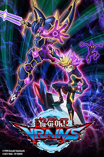 4K Media's Yu-Gi-Oh! VRAINS promo image on Crunchyroll