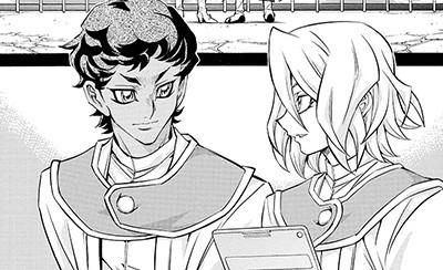 Adam and Eve in Yu-Gi-Oh! ARC-V manga chapter 25