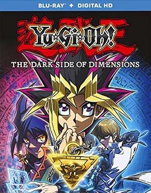 Yu-Gi-Oh! The Dark Side of Dimensions Blu-ray cover mock-up from Anchor Bay Entertainment