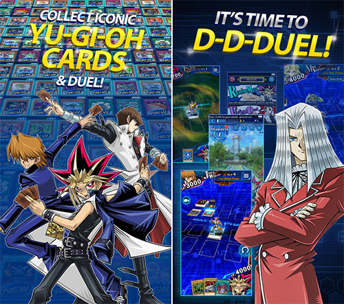 Yu-Gi-Oh! Duel Links promo images