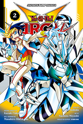 Cover of Yu-Gi-Oh! ARC-V, Volume 2, from VIZ Media, digital edition