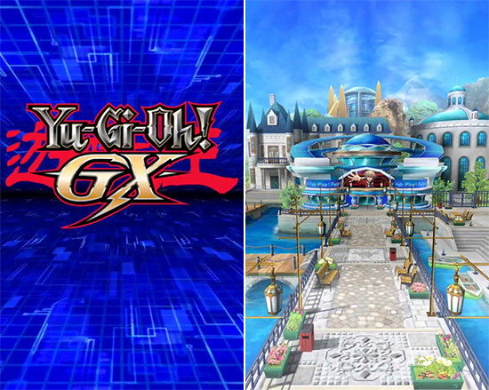 Yu-Gi-Oh! GX logo and Duel World (GX) in Yu-Gi-Oh! Duel Links