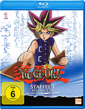 Yu-Gi-Oh! Season 1 episode 1-25 German Blu-ray cover mock-up from KSM Anime