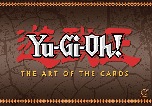 Yu-Gi-Oh! The Art of the Cards artbook cover mock-up from UDON Entertainment