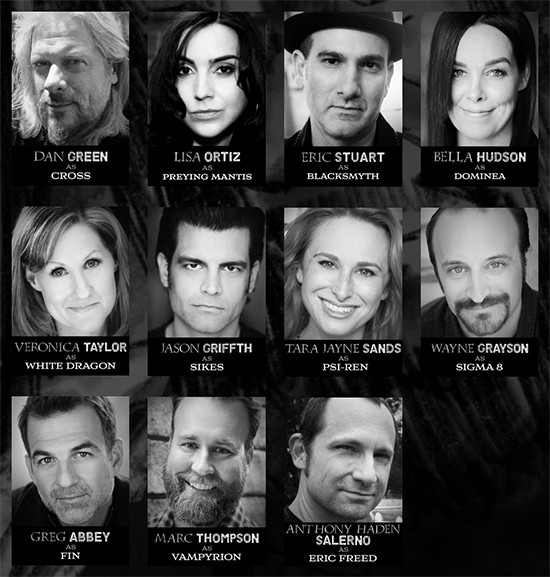 Crossing The G.O.D.S. cast of characters