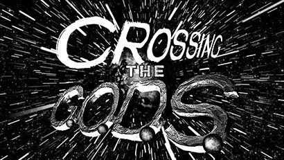 Crossing The G.O.D.S. logo from the teaser