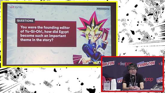 Yoshihisa Heishi at the Weekly Shonen Jump panel at NYCC 2017