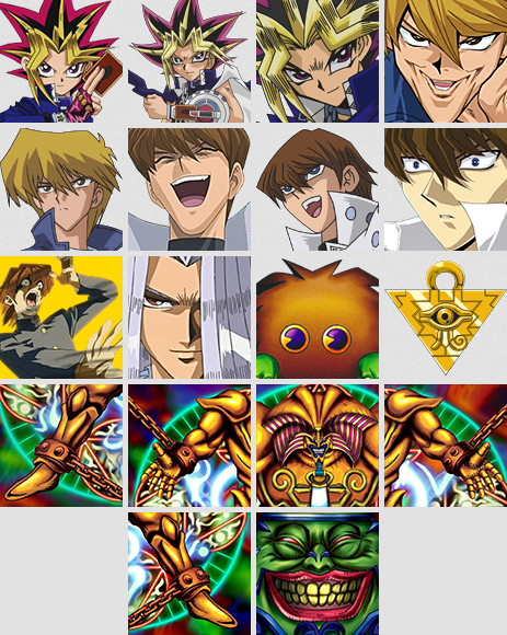 All 18 of Twitch's Yu-Gi-Oh! marathon emotes