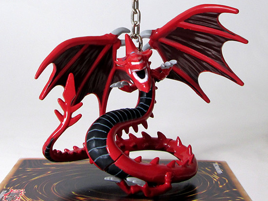 Grin Studios' Slifer the Sky Dragon figure hanger