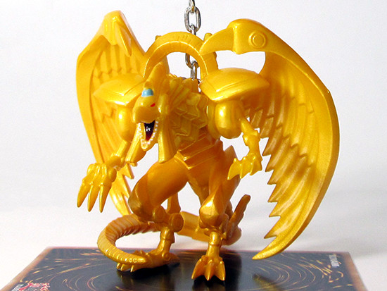 Grin Studios' The Winged Dragon of Ra figure hanger