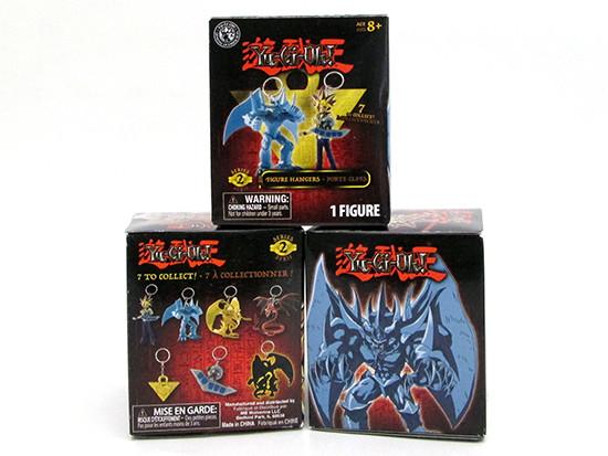 Grin Studios Yu-Gi-Oh! Figure Hangers (Series 2) boxes