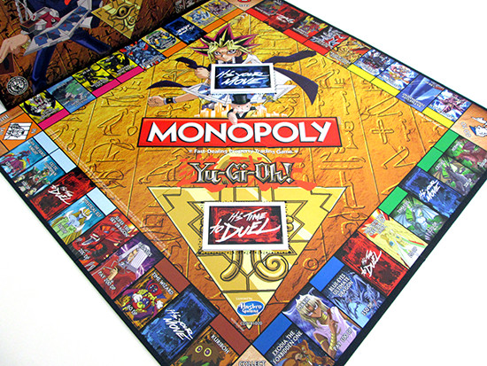 Winning Moves Yu-Gi-Oh! Monopoly game board