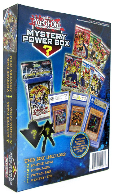 Back of the Winter 2017 Yu-Gi-Oh! TCG Mystery Power Box