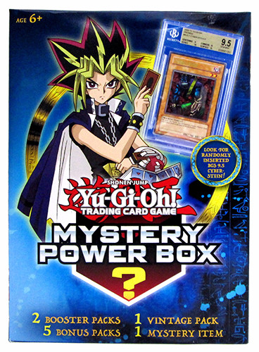 Front of the Winter 2017 Yu-Gi-Oh! TCG Mystery Power Box
