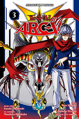 Cover of Yu-Gi-Oh! ARC-V, Volume 3, from VIZ Media, digital edition