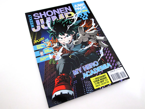 Cover of VIZ Media's Weekly Shonen Jump Spring 2018 Jump Pack