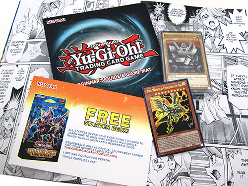 Yu-Gi-Oh! TCG cards and extras included with the Weekly Shonen Jump Spring 2018 Jump Pack