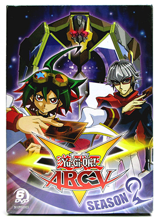 Cover of Cinedigm's Yu-Gi-Oh! ARC-V DVD box set