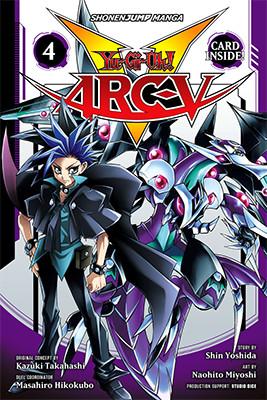 Cover of Yu-Gi-Oh! ARC-V, Volume 4, from VIZ Media, digital edition