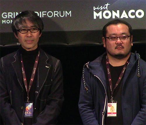 Yoshihisa Heishi and Naoki Kawashima at the MAGIC 2019 opening ceremony
