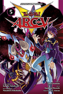 Cover of Yu-Gi-Oh! ARC-V, Volume 5, from VIZ Media, digital edition