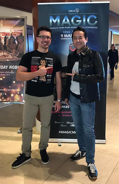 Cédric Biscay and Kazuki Takahashi