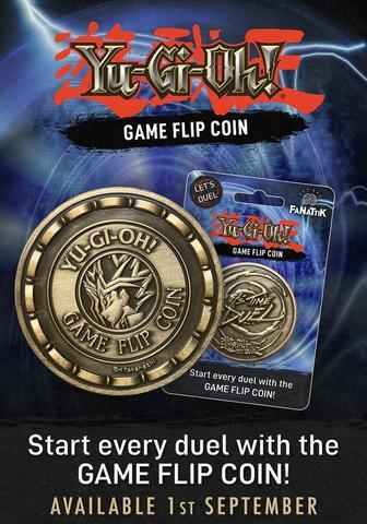 Yu-Gi-Oh! game flip coin by Fanattik