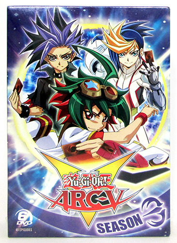 Cover of Cinedigm's Yu-Gi-Oh! ARC-V Season 3 DVD box set