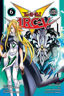 Cover of Yu-Gi-Oh! ARC-V, Volume 6, from VIZ Media, digital edition