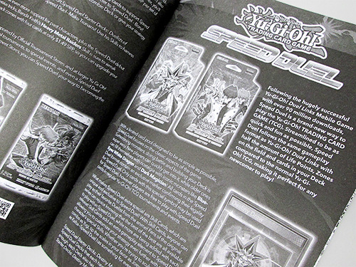 Yu-Gi-Oh! Speed Duel article in the Shonen Jump Fall 2019 Jump Pack