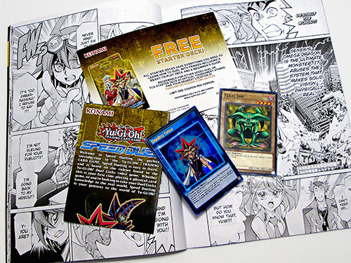 Yu-Gi-Oh! Speed Duel cards and extras included with the Shonen Jump Fall 2019 Jump Pack