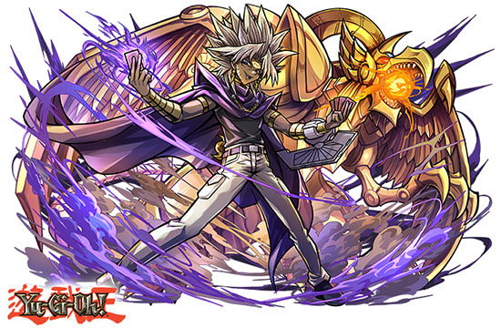 Yami Marik and The Winged Dragon of Ra in Puzzle & Dragons