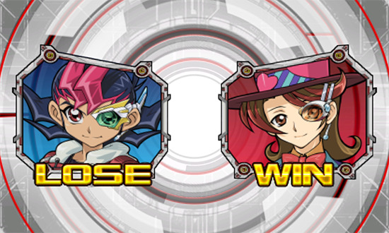 Yuma Tsukumo losing a duel to Corona Williams in Yu-Gi-Oh! ZEXAL World Duel Carnival
