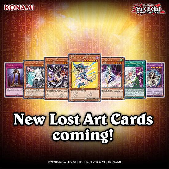 More Yu-Gi-Oh! Lost Card cards coming in 2020, including Kazuki Takahashi's Dark Magician Girl