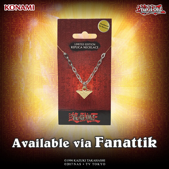 Millennium Puzzle replica necklace by Fanattik